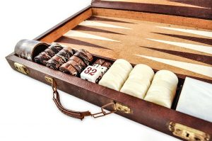 Crisloid Backgammon Vintage Chocolate2